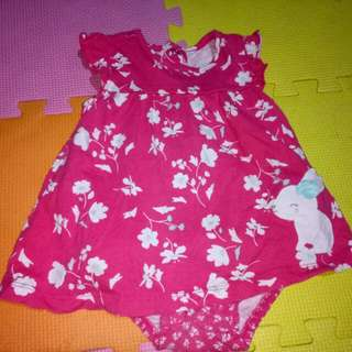 Carter's Romper For her(Size 6-12M)