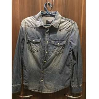Authentic Terranova Denim Top Kids (8-9) Used