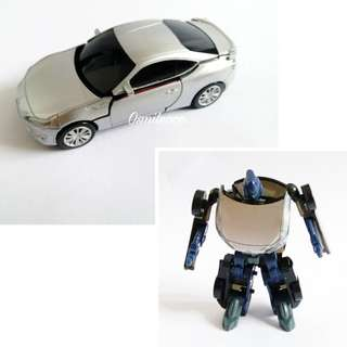 機械人變身車 玩具車