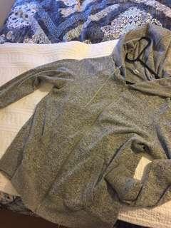 Soft grey hoodie