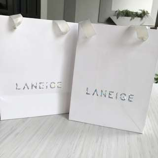 LANEIGE paperbags