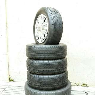 Used 195/65 R15(Sold) Toyo (4pcs) 🙋‍♂️
