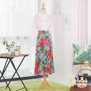 🍿 Vintage Midi Skirt VS1214