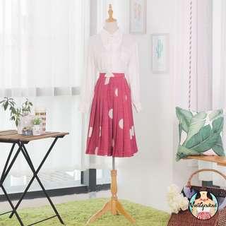 🍿 Vintage Midi Skirt VS1221