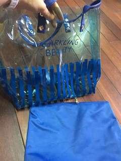 新品 蘭芝海灘防水提袋