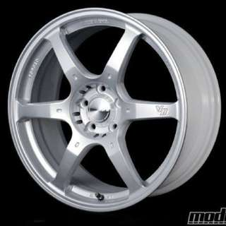 "19"" 5x112 Volk Racing G2 Rims"