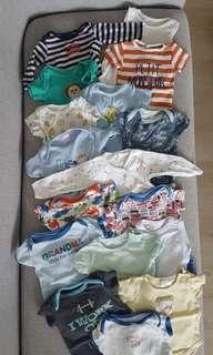 17 pc Newborn Clothes Bundle