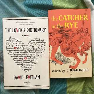 Book Bundle [The Lover's Dictionary + Catcher in the Rye]