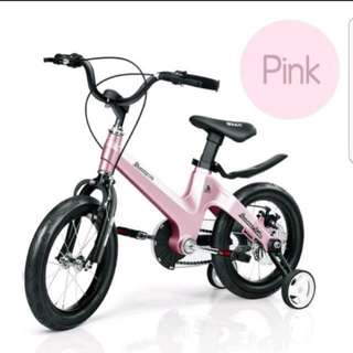 Brand new light weight magnesium alloy kids bike - pink
