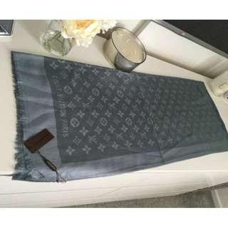 Louis Vuitton scarf authentic no receipt
