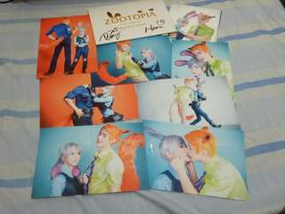 Baozi and Hana Post Cards Set 3