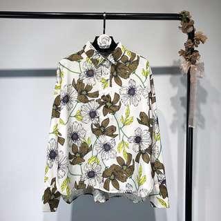 🔥2018 European Flower Long Sleeve Shirt