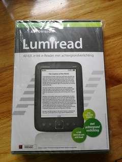 電子書 (Lumiread AV63L e-ink reader)