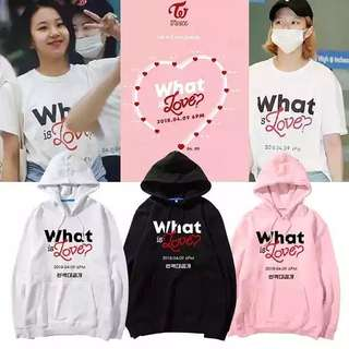 TWICE WHAT IS LOVE HOODIE