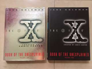 The X Files : Book of the Unexplained Volume One & Two