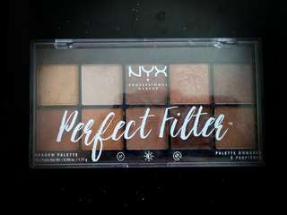 NXY PERFECT FILTER Shadow palette with FREE FACEMASK