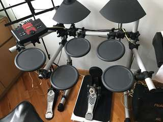 Yamaha DTXPLORER electronic drum 電鼓 送譜架