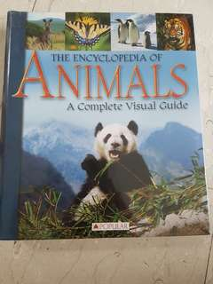 The encyclopedia of animals a complete visual guide