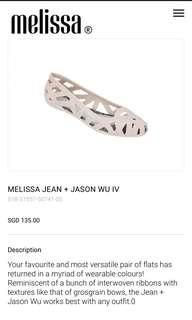 MELISSA SHOES + JASONWU BRAND NEW IN BOX