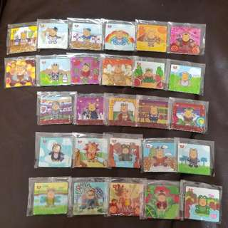 Winnie the pooh 7-11 磁石貼共27個