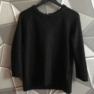 Sweater Hitam HnM