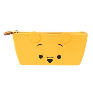 Japan Disneystore Disney Store Pooh Face Pencil Case