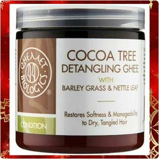 QHEMET BIOLOGICS Cocoa Tree Detangling Ghee