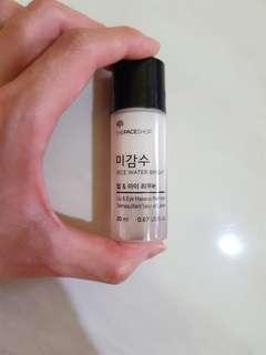 Faceshop lip & eye Makeup Remover