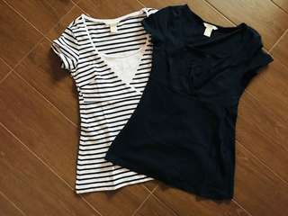BN H&M maternity and nursing tops