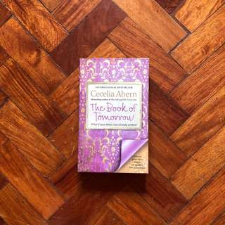 CECILIA AHERN- THE BOOK OF TOMORROW