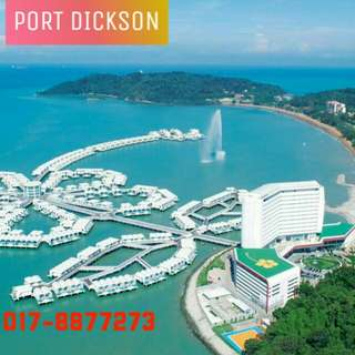 Port Dickson Lexis Hibiscus Sky Pool Villa (voucher - advance booking only)