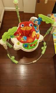 Fisher Price Jumperoo forest theme