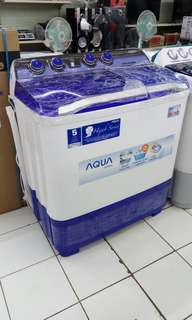 Aqua mesin cuci 2 tabung
