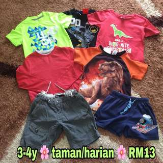 Boys Clothes 3-4y