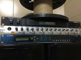 yamaha sp2060/samson power distributor