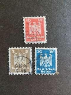 納粹德國郵票纳粹已銷郵票