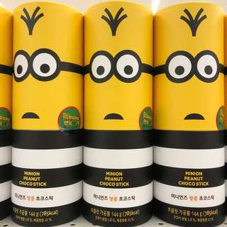 Minion Peanut Choco Sticks