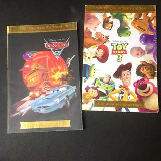2 Books - Cars 2 & Toy Story 3