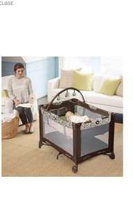 Graco Pack & PlayBaby Cot (Smoke Free Home)