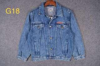 「古著」橘標 牛仔外套