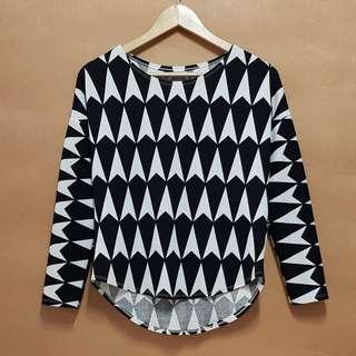 Pattern Print Long Sleeves