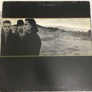 U2 vinyl record
