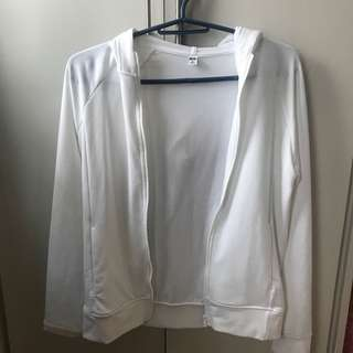 Uniqlo White Jacket