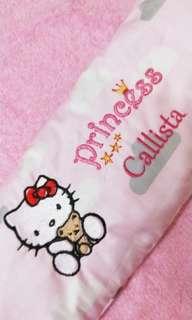 Hello Kitty Customized Name Design Pillow