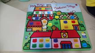 Hello kitty magnetic board