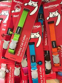 RedDingo cat collar