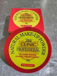 3W Clinic Natural Make Up Powder