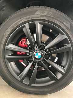 Spraying Rims & Calipers Promo