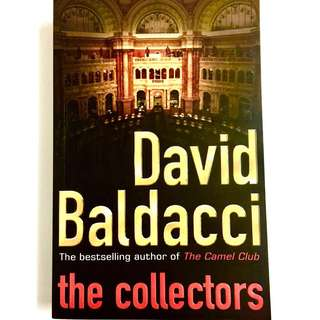The Collectors by David Baldacci [large print] (thriller espionage book)