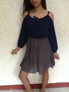 Top and Skirt Pair